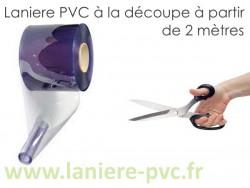 LANIERE PVC SOUPLE A LA DECOUPE