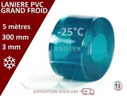 Rouleaux laniere PVC SPECIAL LANIERES PVC GRAND FROID 5 mètres