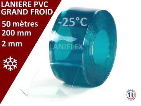 Rouleaux laniere PVC SPECIAL LANIERES PVC GRAND FROID 50 mètres