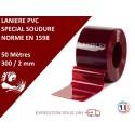 LANIERES PVC SPECIAL SOUDURE 10m, 25m, 50m