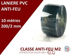 LANIERES PVC IGNIFUGE 10m, 25m, 50m