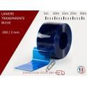 LANIERE PVC DE COULEUR TRANSPARENTE 5m,10m, 15m,25m, 50m
