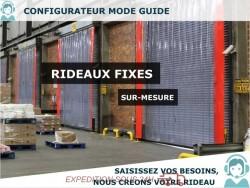 RIDEAUX LANIERES PVC FIXES RIDEAU FIXE A LANIERES PVC SOUPLES