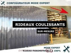 RIDEAU LANIERES PVC COULISSANT RIDEAU COULISSANT A LANIERES PVC - EXPERT