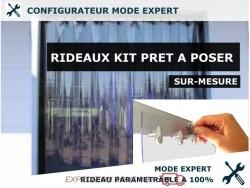 KIT RIDEAU A LANIERE PVC SOUPLES - EXPERT