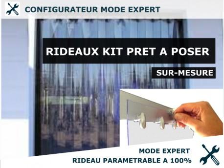 KIT RIDEAU PVC KIT RIDEAU A LANIERE PVC SOUPLES - EXPERT