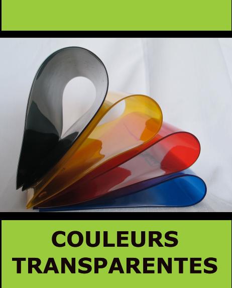 kit rideau pvc souple couleur transparent