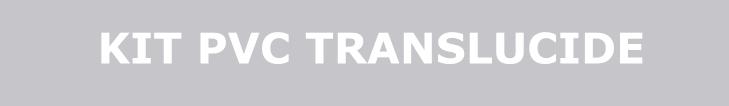 kit rideau pvc souple translucide