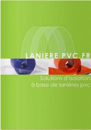 plaquette rideau laniere pvc